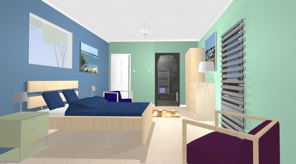 bedroom ensuite 2